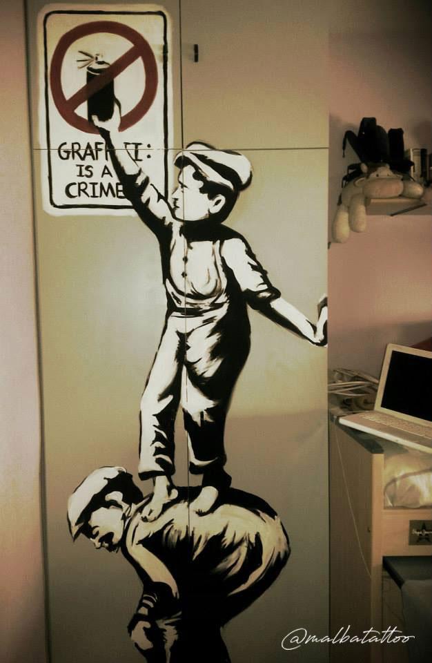 Graffitti is a crime