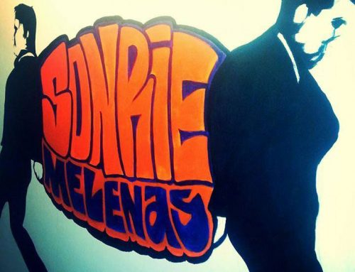 Mural Sonríe Melenas