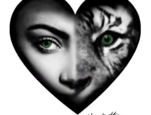 Diseño mujer tigre