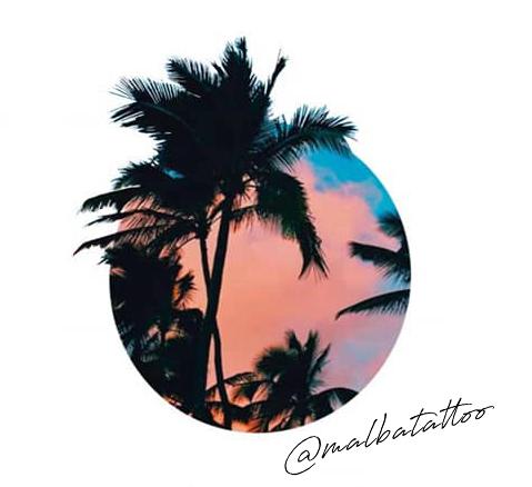 Diseño palmeras